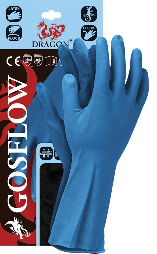 Rękawice ochronne - gumowe - latexowe - nitrylowe